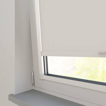Perfect Fit Roller Blinds Splash Ivory Off-White