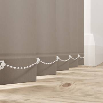 Vertical Blinds Splash Latte Brown