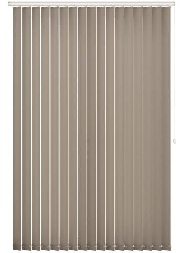 Replacement Vertical Blind Slats Splash Latte Brown