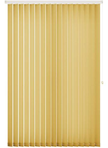 Vertical Blinds Splash Mellow Yellow