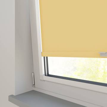 Perfect Fit Roller Blinds Splash Mellow Yellow