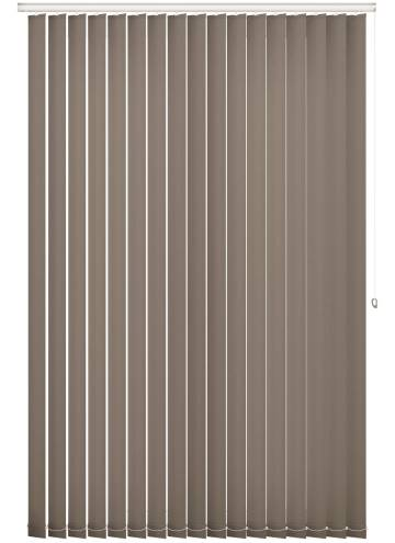 Replacement Vertical Blind Slats Splash Mocha Brown