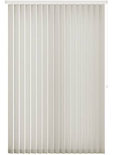 Vertical Blinds Splash Paper White
