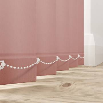 Vertical Blinds Splash Rose Gold