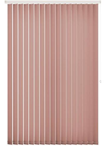 Replacement Vertical Blind Slats Splash Rose Gold