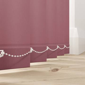 Vertical Blinds Splash Rosewood Pink