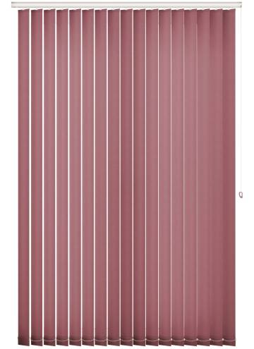 Replacement Vertical Blind Slats Splash Rosewood Pink