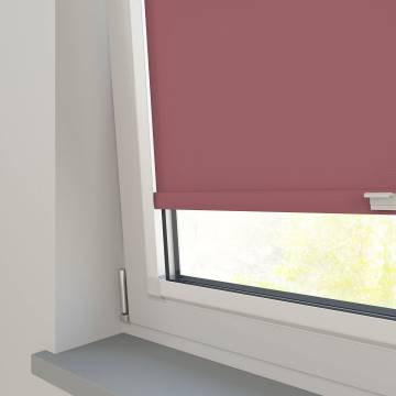 Perfect Fit Roller Blinds Splash Rosewood Pink