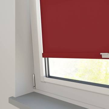 Perfect Fit Roller Blinds Splash Ruby Red