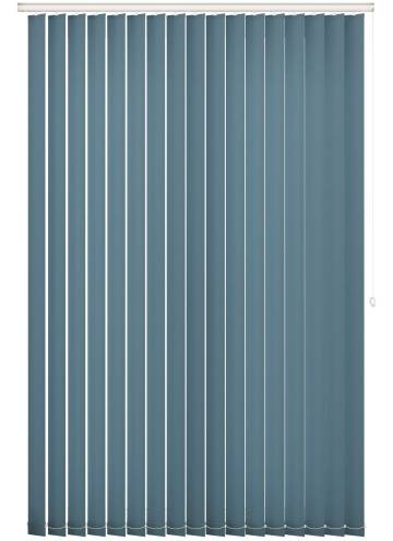Replacement Vertical Blind Slats Splash Sapphire Blue