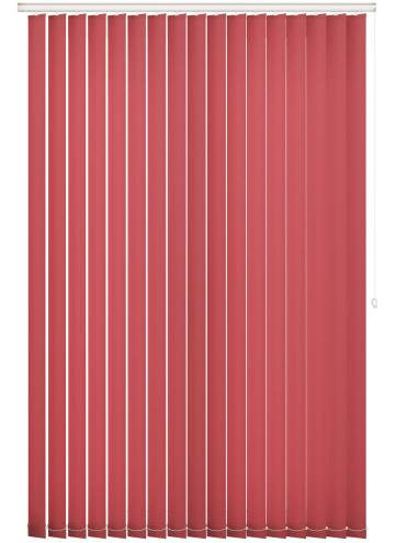 Replacement Vertical Blind Slats Splash Scarlet Red