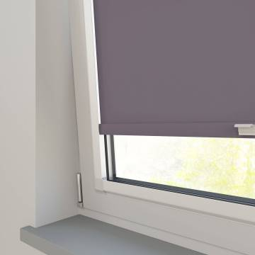 Perfect Fit Roller Blinds Splash Sloe Purple