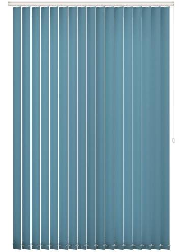 Replacement Vertical Blind Slats Splash Smoke Blue