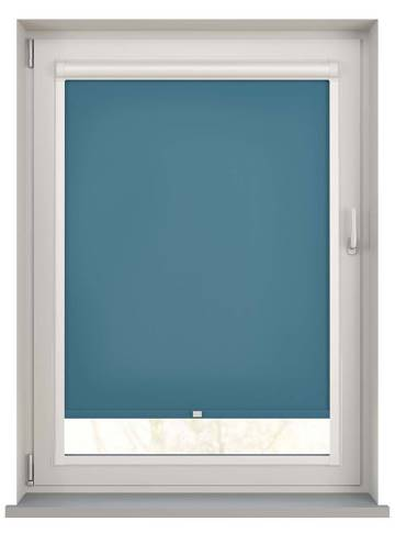 Perfect Fit Roller Blinds Splash Smoke Blue