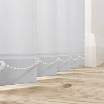 Vertical Blinds Splash Snow White