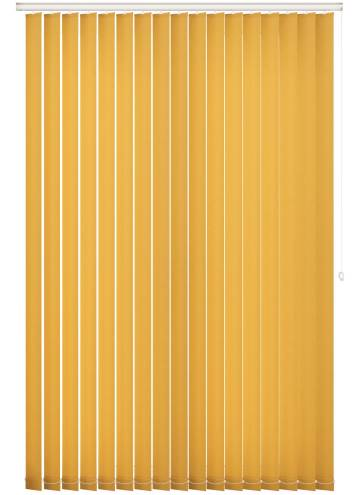Replacement Vertical Blind Slats Splash Solar Yellow