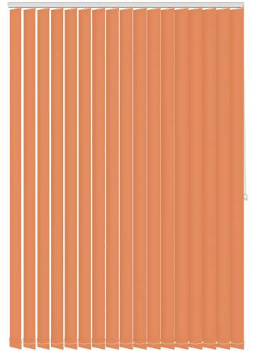 Vertical Blinds Splash Tango Orange
