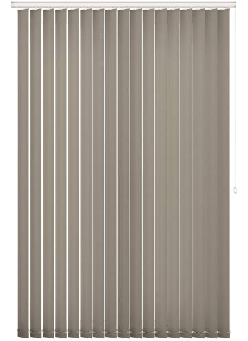 Replacement Vertical Blind Slats Splash Taupe Brown