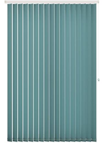 Replacement Vertical Blind Slats Splash Teal Blue