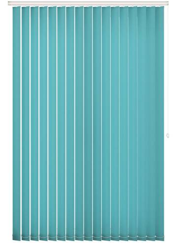 Replacement Vertical Blind Slats Splash Turquoise Blue