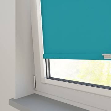 Perfect Fit Roller Blinds Splash Turquoise Blue