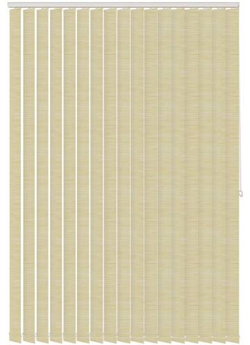 Vertical Blinds Stripe Solar Calico Cream