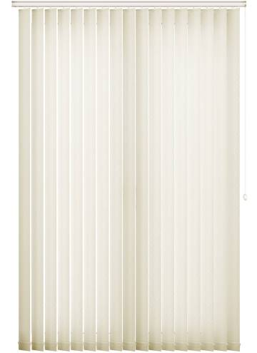 Vertical Blinds Swirl Cream
