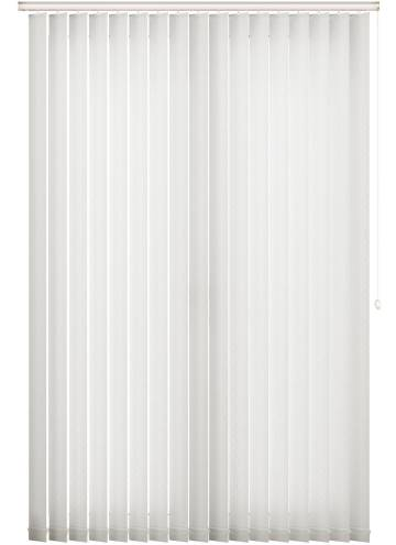 Vertical Blinds Swirl White