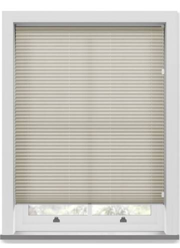 Pleated Free hanging Blinds Sylvan Linen Beige
