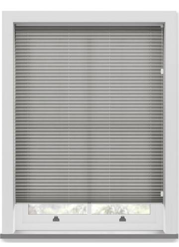 Pleated Free hanging Blinds Sylvan Linen Grey