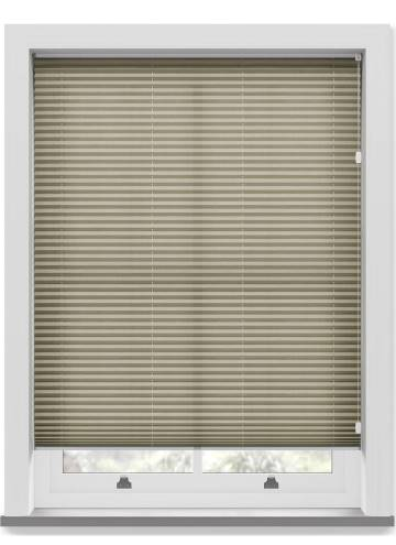 Pleated Free hanging Blinds Sylvan Linen Natural
