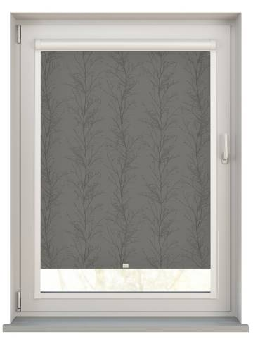 Perfect Fit Roller Blinds Treviso Graphite Grey