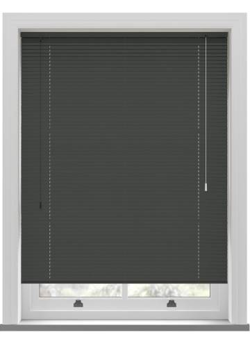 Venetian Blinds Turin 25mm Anthracite Grey