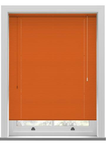 Venetian Blinds Turin 25mm Bright Orange