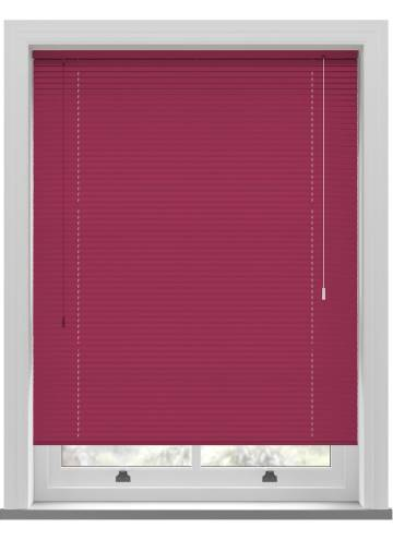 Venetian Blinds Turin 25mm Cerise Pink