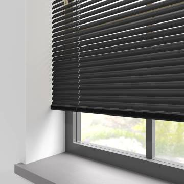 Venetian Blinds Turin 25mm Gloss Black