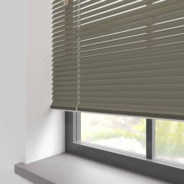Venetian Blinds Turin 25mm Gloss Pebble Grey