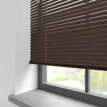 Venetian Blinds Turin 25mm Mocca Brown