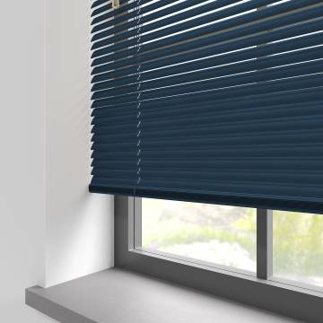 Venetian Blinds Turin 25mm Navy Blue