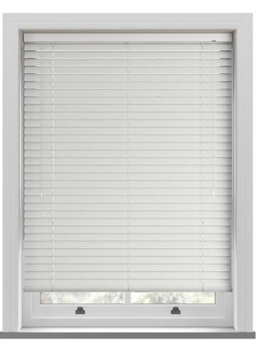 Venetian Blinds Turin 25mm Perforated White