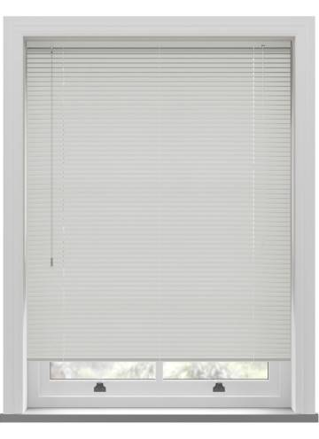 Venetian Blinds Turin 25mm Porcelain White