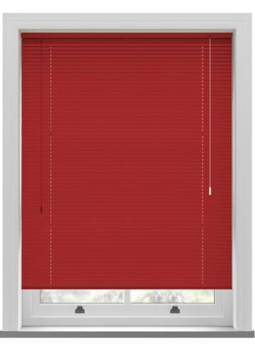 Venetian Blinds Turin 25mm Primary Red