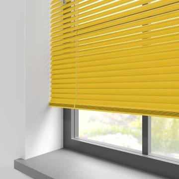 Venetian Blinds Turin 25mm Primary Yellow