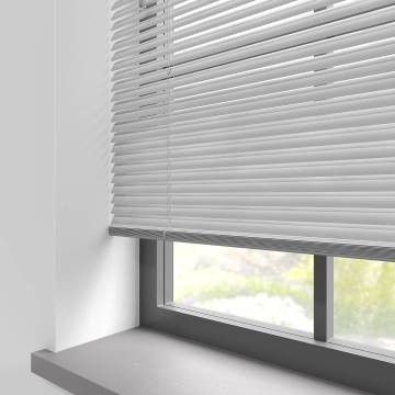 Venetian Blinds Turin 25mm Striped Silver
