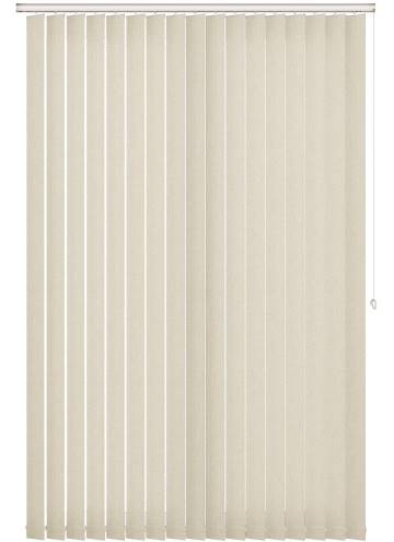 Vertical Blinds Umbra Blackout Cream