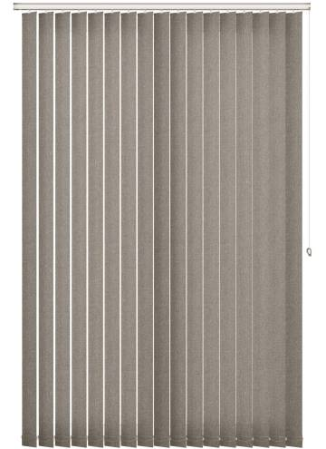 Replacement Vertical Blind Slats Umbra Blackout Shadow Grey