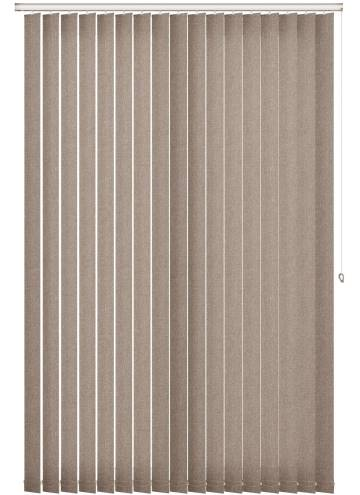 Replacement Vertical Blind Slats Umbra Blackout Taupe Brown