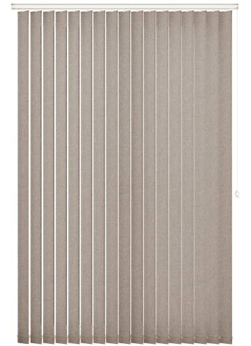 Vertical Blinds Umbra Taupe Brown