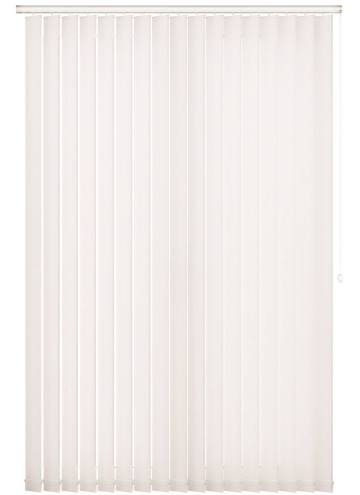 Replacement Vertical Blind Slats Umbra White