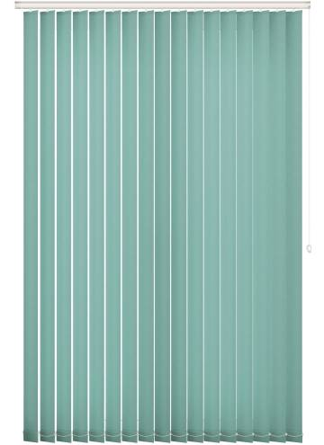 Vertical Blinds Unicolour FR Atmosphere Duck Egg
